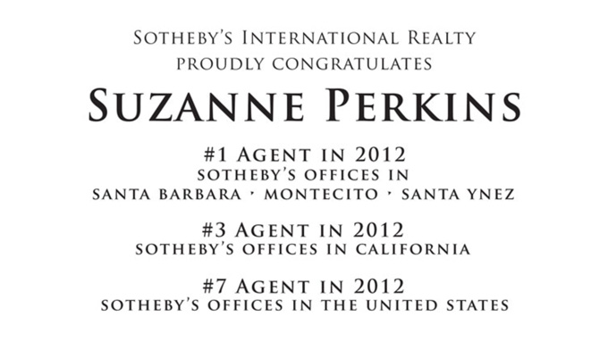 2012 Accolades From Sotheby's International Realty