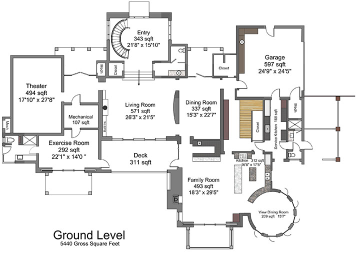 Kennedy compound floor plan images for Compound house plans