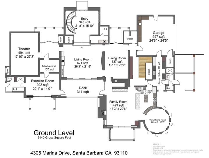 4305 Marina Drive Site Plans
