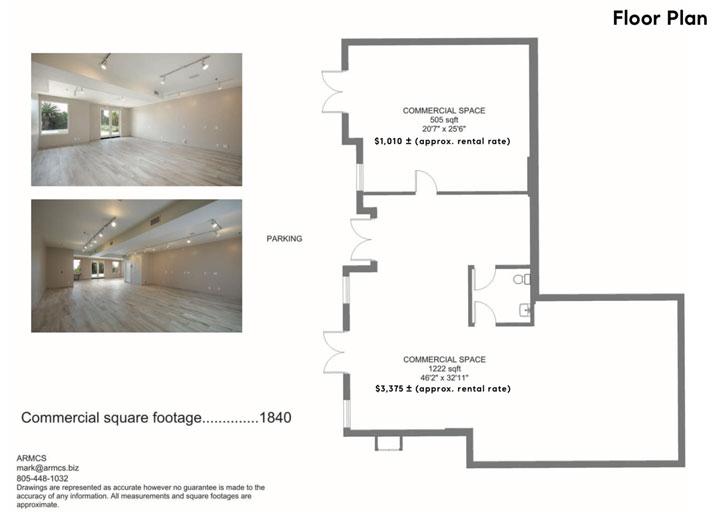 1st Floor Ocean View Retail/Office Space